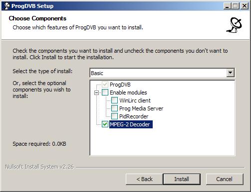 H 264 Progdvb Pack Downloads