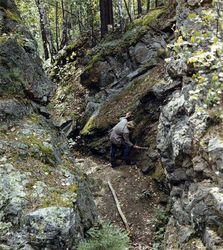 Россия тайга / леса умеренного пояса   ландшафты Блюмовская копь - Ильменский запеведник